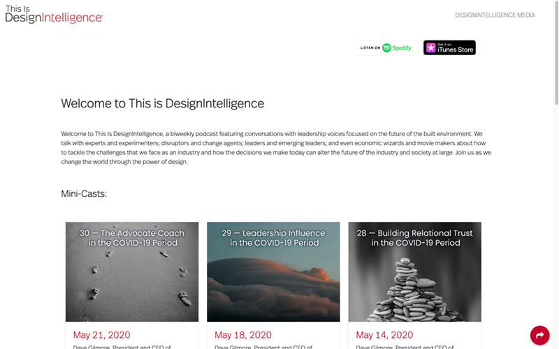This is DesignIntelligence
